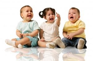 crying babies