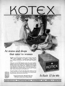kotex ad 1921