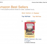 Midlife Cabernet is Ranked #1 in Humor on Amazon.com