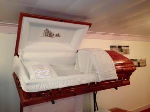 open casket