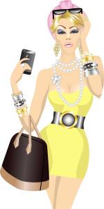 rich woman