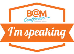 BAM speaker badge