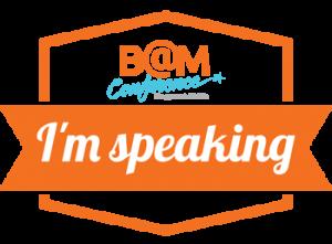 BAM speaker badge