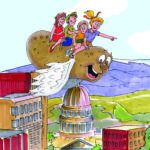 """Flying Potato"" Writing Contest Announced for Idaho Children"