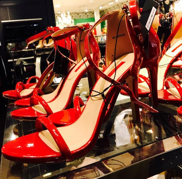 school clothes heels
