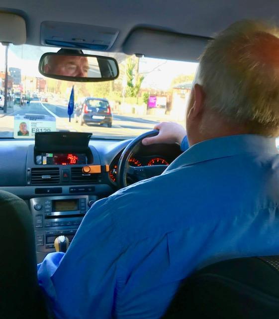 taxi driver dublin